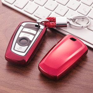 Image 5 - TPU araba anahtarı durumda oto anahtar koruma kapağı BMW için 1/3/5/7 serisi X3 X4 M2/3/4 araç tutucu kabuk renkli araba şekillendirici aksesuarları