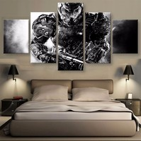 5 Pieces Movie Game Character Modular Picture Modern Home Wall Deco Canvas Picture Art Print Painting On Canvas For Living Room