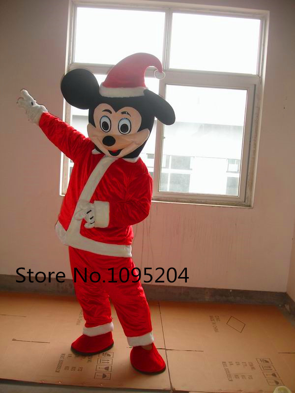 Halloween Gebruiken.Us 59 99 Hoge Kwaliteit Kerst Minnie Mouse Mascotte Kostuum Voor Halloween Verjaardagsfeestjes En Andere Partijen Te Gebruiken Snelle Verzending