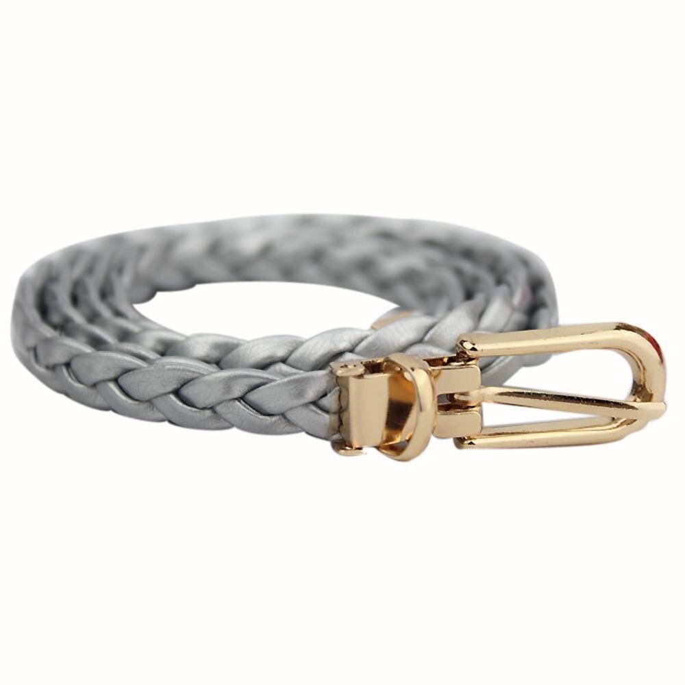 Women   Belt   Elegant weave Leather Strap High Quality Designer Strap   Belt   Waistband Dress Accessories cinturon mujer riem A9