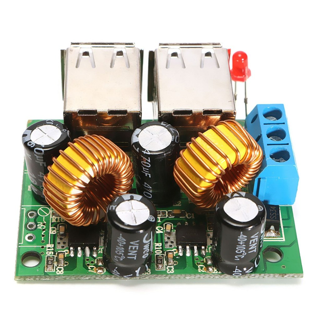 Hot Sale High Quality 10pcs/lot USB Step-down Power Supply Module