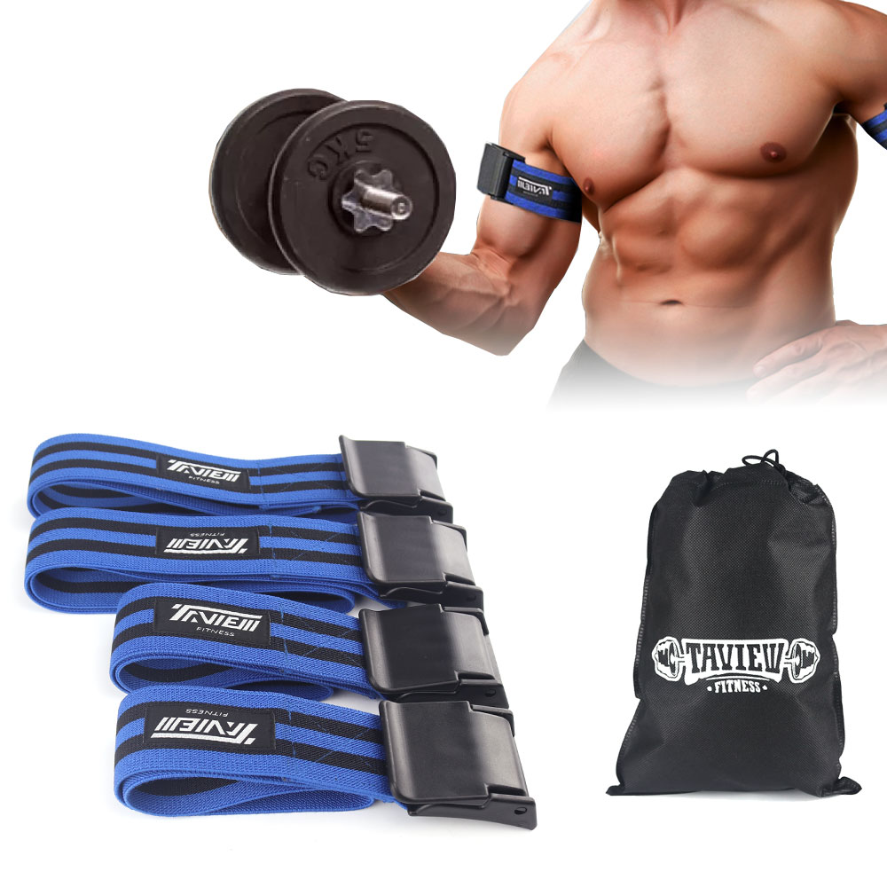Fitness Flexible Blood Flow Restriction Bands Occlusion Bands For Bodybuilding Weightlifting Gym Leg Exercise Equipment