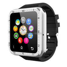 MP3 music watch phone android smartwatch 1.54inch touch screen quad band GSM fone watch sync whatsapp skype shipping free