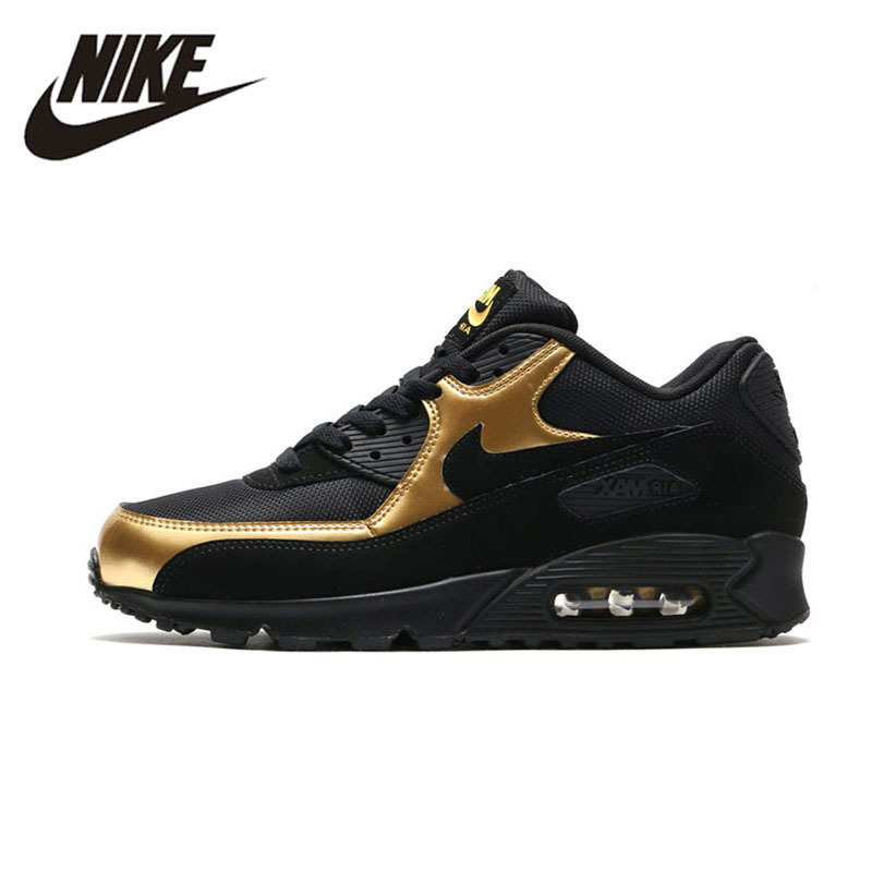 NIKE AIR MAX 90 Original New Arrival Breathable Massage Running Shoes For Male Comfortable Sneakers #537384 nike original new arrival mens air max tavas breathable low top running shoes sneakers for men