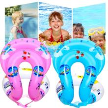 Двойные подушки безопасности, детский надувной плавательный жилет, детская Спасательная куртка, плавательный бассейн, куртка для обучения плаванию, спасательный жилет для детей