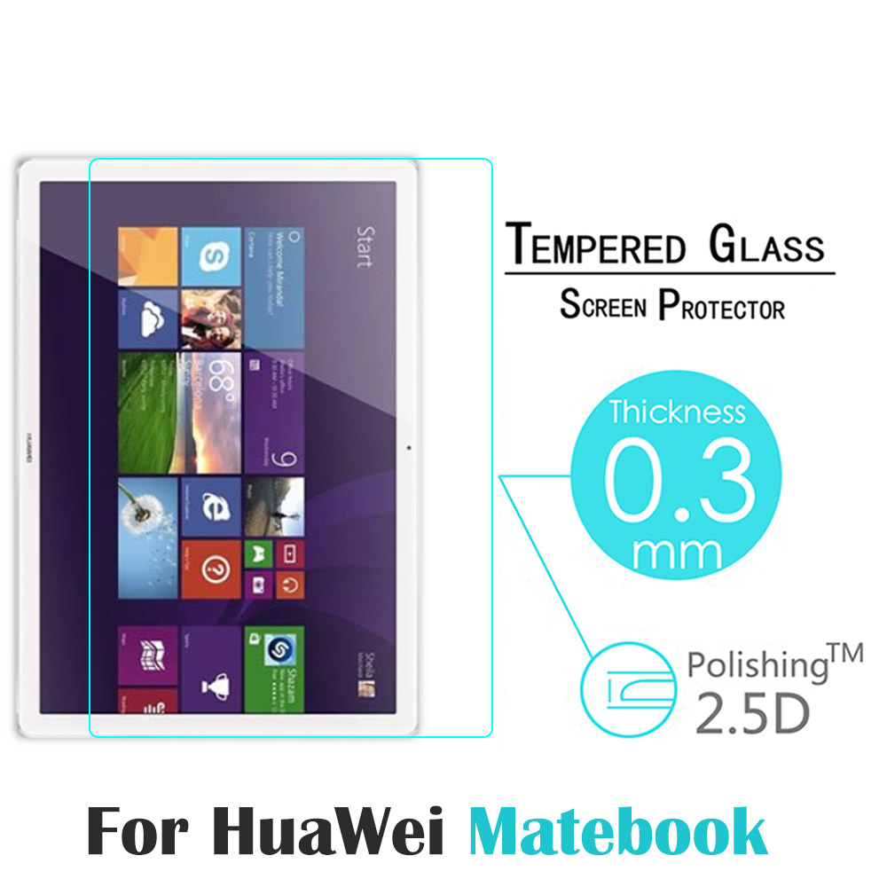 For HuaWei MateBook 12.0″ Mate Book 9H Tempered Glass Screen Protector Film Transparent Toughened Protective Slim Film