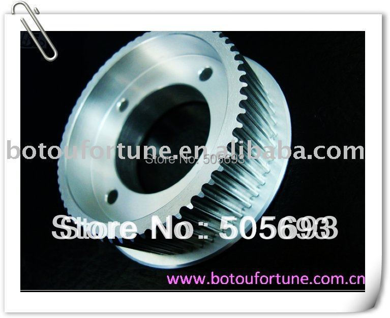 60teeth htd3m timing pulley aluminum timing pulley with 17mm width belt 5pcs a pack