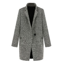New Winter Pretty Women coats Wool Thick Trench Coat Overcoat Clothes