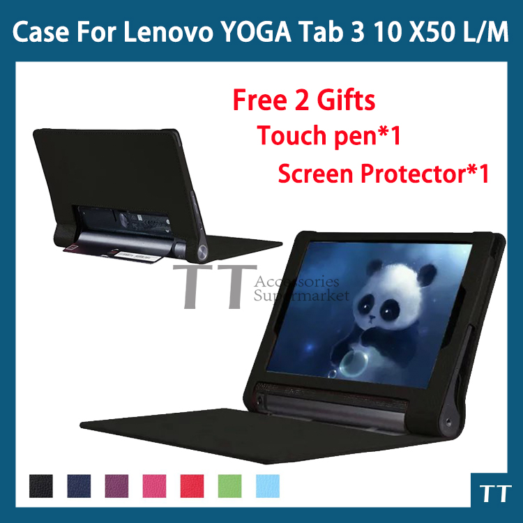 Case for Lenovo yoga tablet 3 10.1 X50L X50M X50f PU Leather