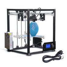 DE New Professional High Precision Large Printing Size 210*210*280mm DIY Aluminium Structure LCD Screen Display 3D Printer