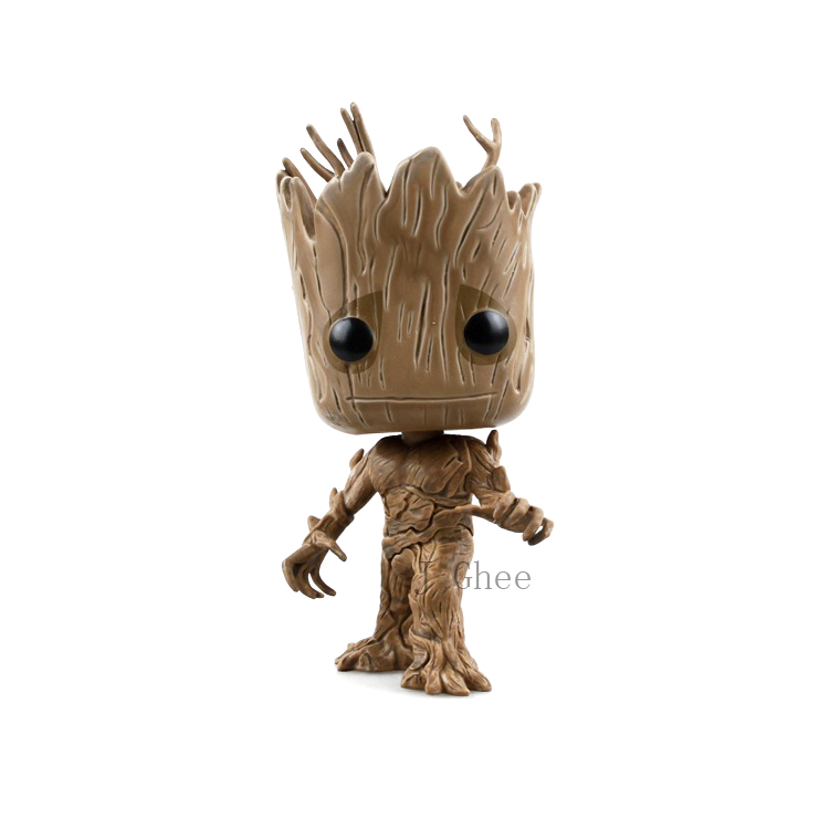 J Ghee POP  Guardians of the Galaxy Tree Man 84 Vinyl Bobble Head Figure Collectible Model Toy 13cm Brinquedos Christmas Gift 2016 new arrival the guardians galaxy mini dancing tree man action figure model toy doll