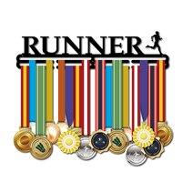 Медаль Вешалка дисплей Бег медаль держатель Железный медаль держатель дисплей держать 36 ~ 45 медали