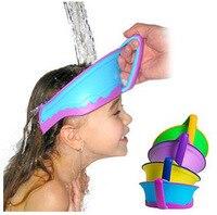 New Adjustable Baby Shower Cap Protect Shampoo Hair Wash Shield For Infant Children Kids Bath Visor