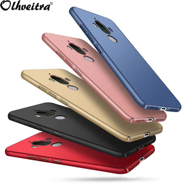 best loved f1004 d9560 US $2.38 5% OFF|Originele Telefoon Cover Voor Huawei Mate 9 Case Luxe Hard  PC Achterkant 360 Volledige Bescherming Capa Fundas voor Huawei Mate 9 ...