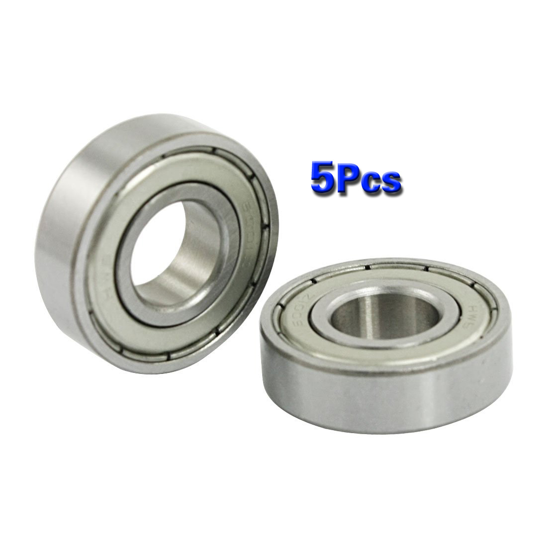 BHBD 5 pcs 12mm x <font><b>28mm</b></font> x 8mm 6001Z Shielded Deep Groove Radial <font><b>Ball</b></font> <font><b>Bearing</b></font> image