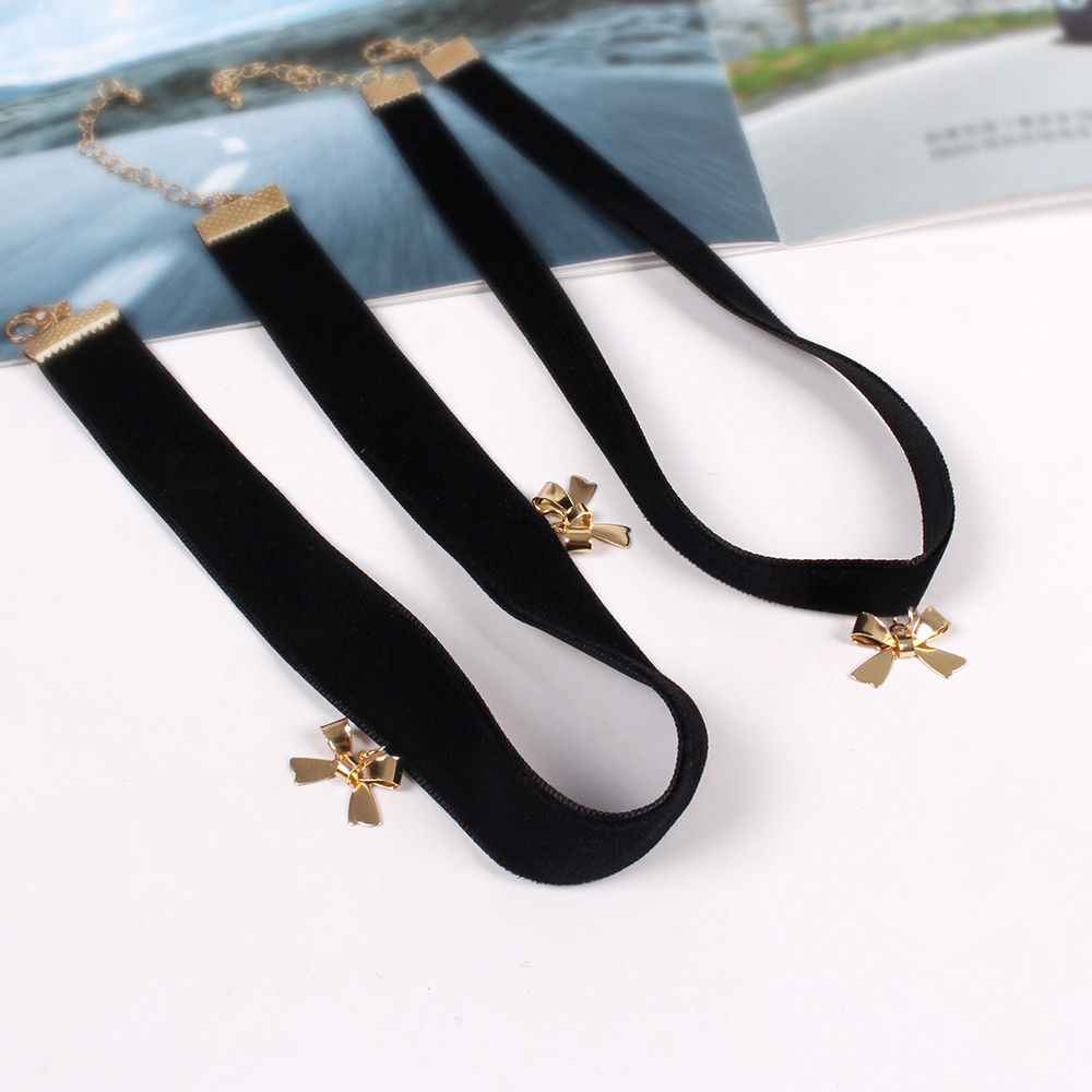 Wholesale Jewelry Japan Us 1 69 Europe United States Jewelry Wholesale Japan Is The Latest Popular Magazine Metal Butterfly Pendant Black Velvet Belt Necklace In Pendant