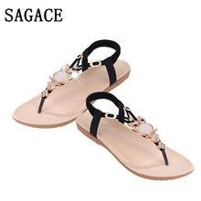 2018 Women Fashion Leather Gem Rhinestone Owl Sweet Sandals Clip Toe Sandals  travel Beach Shoes taking photos p  dopship b3fa81df10db