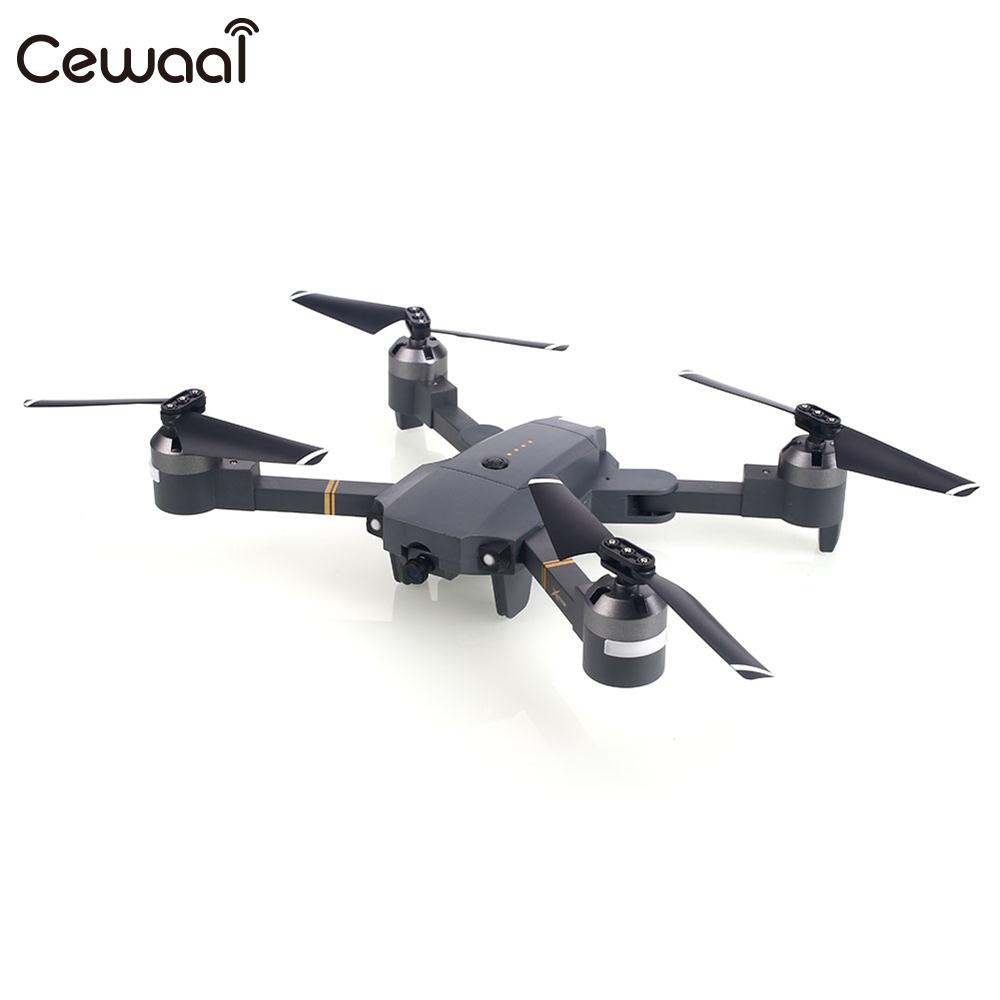 Headless mode throwing mode fixed high folding UAV receiving packet 640P WiFi real time video Camera Drone Quadcopter Gift