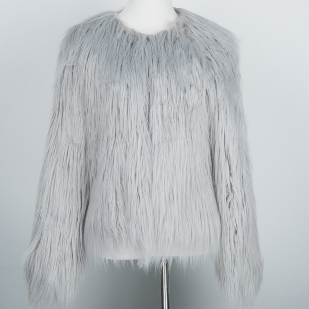 Chic Soft Faux Fur Coat 17