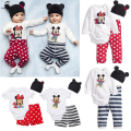 Baby Rompers Winter Mickey Minnie Cartoon Baby Girl Clothes Infant Newborn Baby Boy Custume Jumpsuits Clothing Set Baby Rompers
