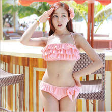 Swimwear Ms. Bikini Split Swimsuit Korean New Hot Spring Vacation Girl