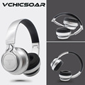 VCHICSOAR Bluetooth Headphones Wireless Foldable Portable Headsets with Mic HiFi Support TF Card FM Radio for iPhone Samsung