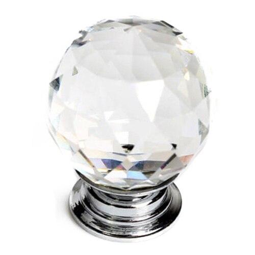CNIM Hot 16 X 30mm Diamond Crystal Glass Door Knob Knobs Handle Drawer Kitchen + ScrewsCNIM Hot 16 X 30mm Diamond Crystal Glass Door Knob Knobs Handle Drawer Kitchen + Screws