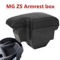 for MG ZS armrest box central Store content box products interior Armrest Storage car styling accessories part 2017 2019