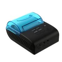 Free Shipping Wireless Mini Bluetooth Printer POS Thermal Receipt Printer ZJ 5805 58mm Printer Bill Machine