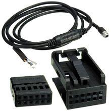 Вспомогательный провод AUX 3,5 мм 12PIN, черный аудиокабель для BMW E60 E63 5 6 Series