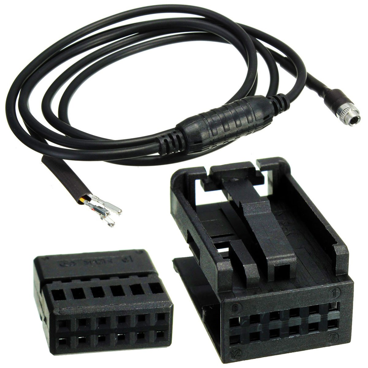 2019 Upgrade 3.5mm Plug 3ft Cord Black Universal Car Audio Cassette Adapter IC-900