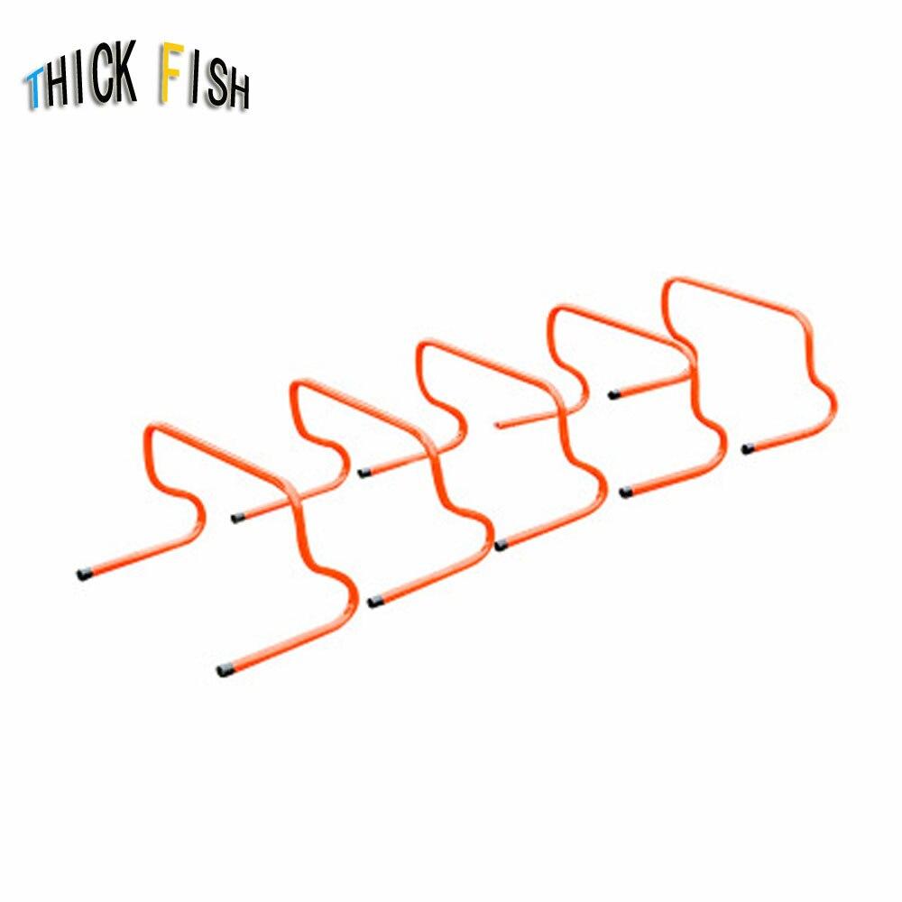 5pcs/lot 23cm 15cm soccer football gaelic hurdle hurdles training practise equipment barriers frame