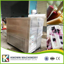 Commercial digital dynomo spatial formula popsicle machine with copper spiral evaporator by sea