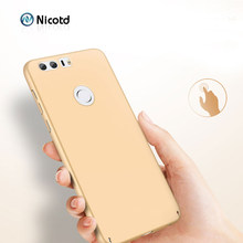 Phone Case For Huawei Honor 8 Case Huawei Honor 9 Cover PC Matte Hard Luxury Back Phone Cover Ultra Thin for Honor 10 7x v9 v10(China)