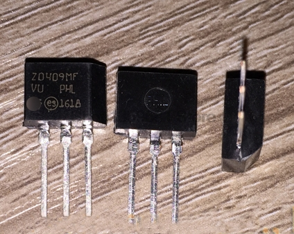 10PCS <font><b>Z0409MF</b></font> Z0409SF Z0409NF Z0409 TO-202 4A 600V/700V/800V 4 A Triacs Thyristor image