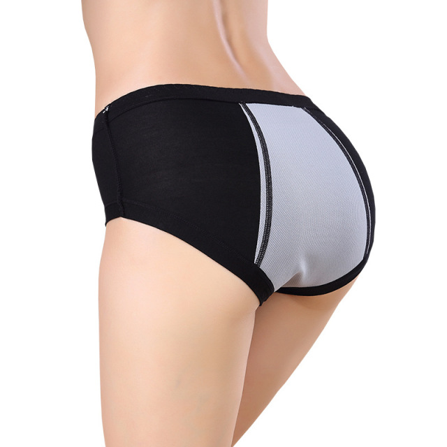 Menstrual Period Leak Proof Underwear Women Modal Cotton Panties Ladies Seamless Lengthen Panties Physiological Female 4