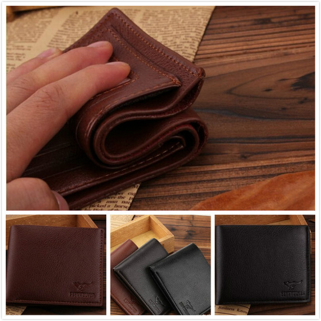 bb82b27f7c64 Personalized Mens Leather Wallet