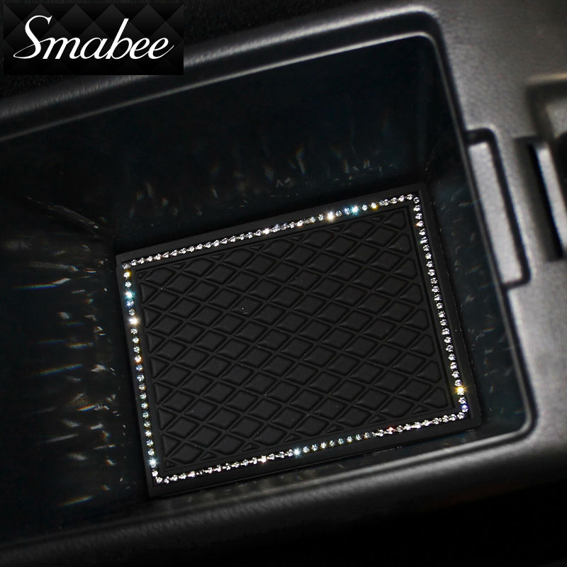 Smabee Gate slot pad Mat Para 2014-2016 Honda fit Automotive interior - Accesorios de interior de coche - foto 2