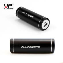ALLPOWERS Portable Charger 5400mAh Mobile Phone External Battery Power Bank for iPhone 6 6s 7 plus Samsung Galaxy Xiaomi Mi