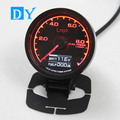 DY 7Colors 60mm Fuel Press Gauge Meter with Voltage gauge Multi D/A LCD Digital Display Racing Gauge