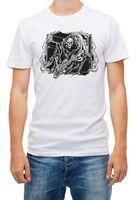Grim Reaper Guitarist T Shirt Guitar Heavy Metal Skeleton Music White Short Slee Tops Tees Men