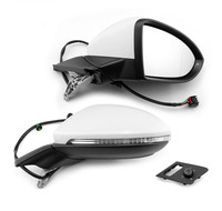 Genuine For Golf 7 mk7 Auto folding mirror electric folding side mirrors with light 5GG 857 507 A & 5GG 857 508 A