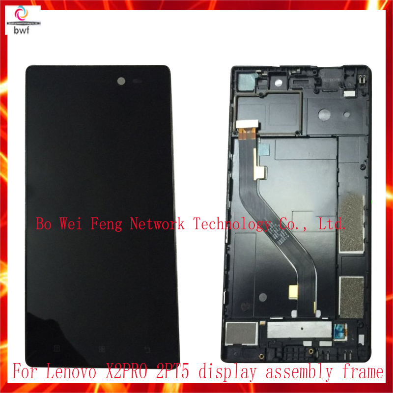 ФОТО High Quality For Lenovo X2PT5 X2pro LCD Display+Touch Screen Digitizer Assembly With Frame+tool Free Shipping+Tracking Code