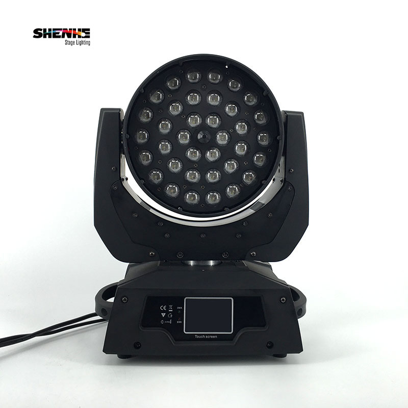 (2pcs) Free Shipping 10- 90degree 36x15W RGBWA 5IN1  36x15W DJ Inno Color RGBWA LED Wash With багажники inno