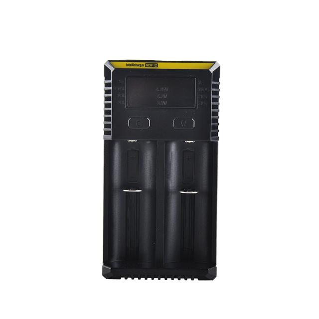 Original Nitecore i2 Cargador De batería 16340 10440 AA AAA 14500 18650 26650 Cargador de Batería Cargador Universal en la Acción