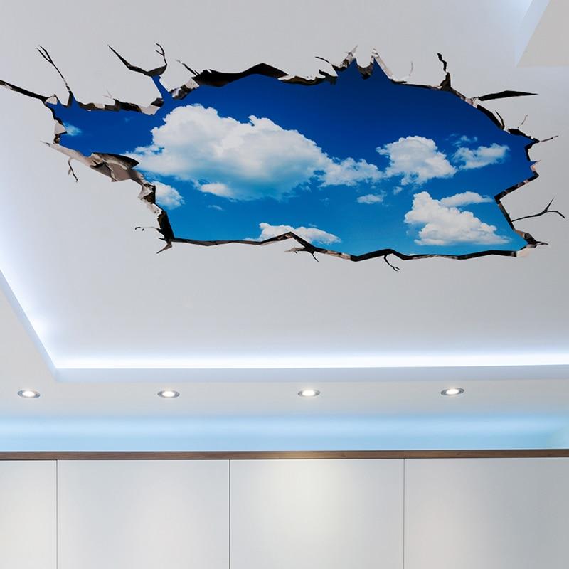 [SHIJUEHEZI] Αυτοκόλλητες ετικέττες τοίχου - Διακόσμηση σπιτιού - Φωτογραφία 4