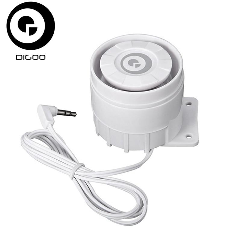 DIGOO DG-HOSA HOSA External Speakers 433MHz Window Door Sensor PIR Detector Wireless Remote Controller
