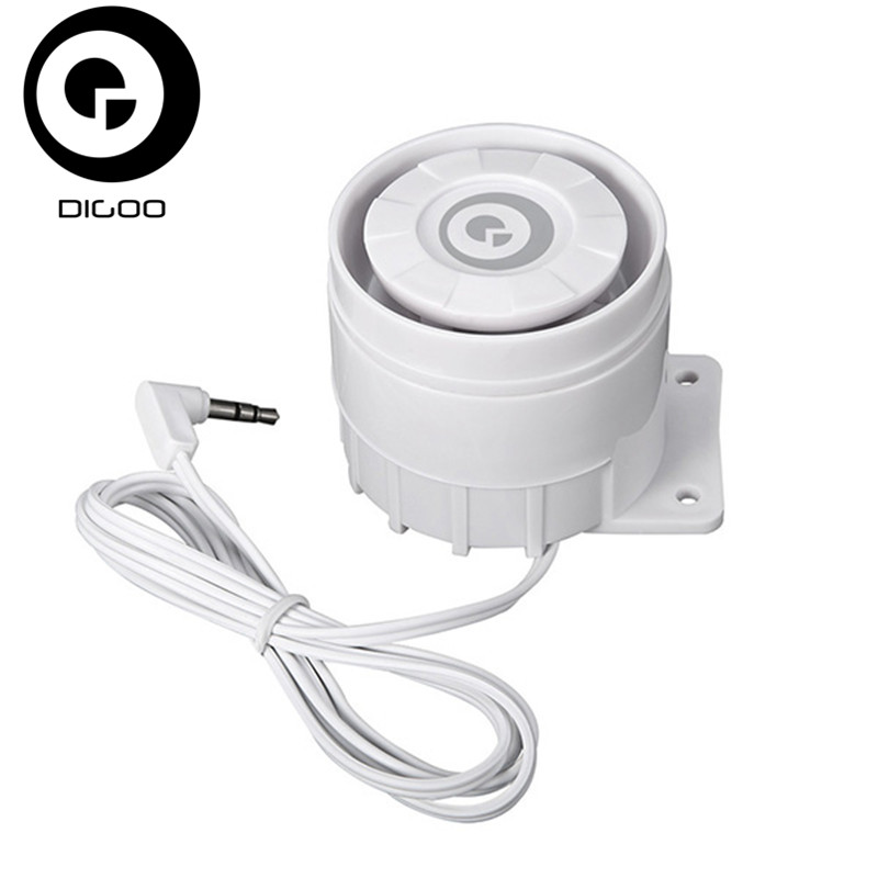 DIGOO DG-HOSA HOSA External Speakers 433MHz Window Door Sensor PIR Detector Wireless Remote Controller digoo dg hosa hosa wireless infrared pir detector sensor for 433mhz home security alarm system kits