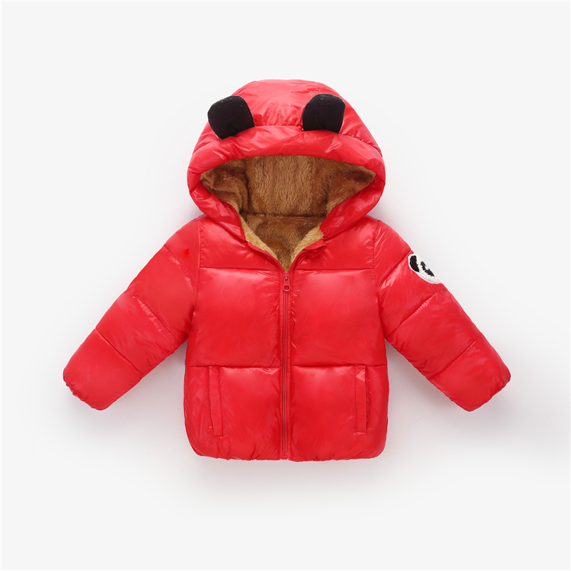 2018 New Winter Coat Cotton Jacket Boy Girl Baby Winter Coat Small Ears Hoodie Five Colors Fashion Girl Snow suit ZFY152 2018 New Winter Coat Cotton Jacket Boy Girl Baby Winter Coat Small Ears Hoodie Five Colors Fashion Girl Snow suit ZFY152