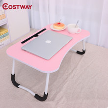 Laptop Stand Computer Desk Computer Table Folding Table escritorio mesa plegable mesa ordenador table pliante biurko tafel W0380(China)